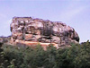 The legendary Lion Rock (Sigiriya), the rock fortress built by a a king who lived in fear of his brother's vengeance because he killed his own father.