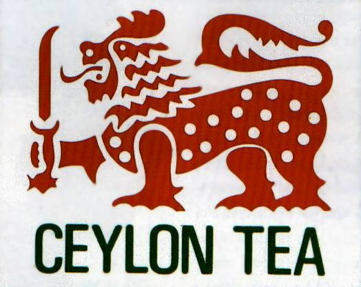 The Lion Logo of Ceylon Tea